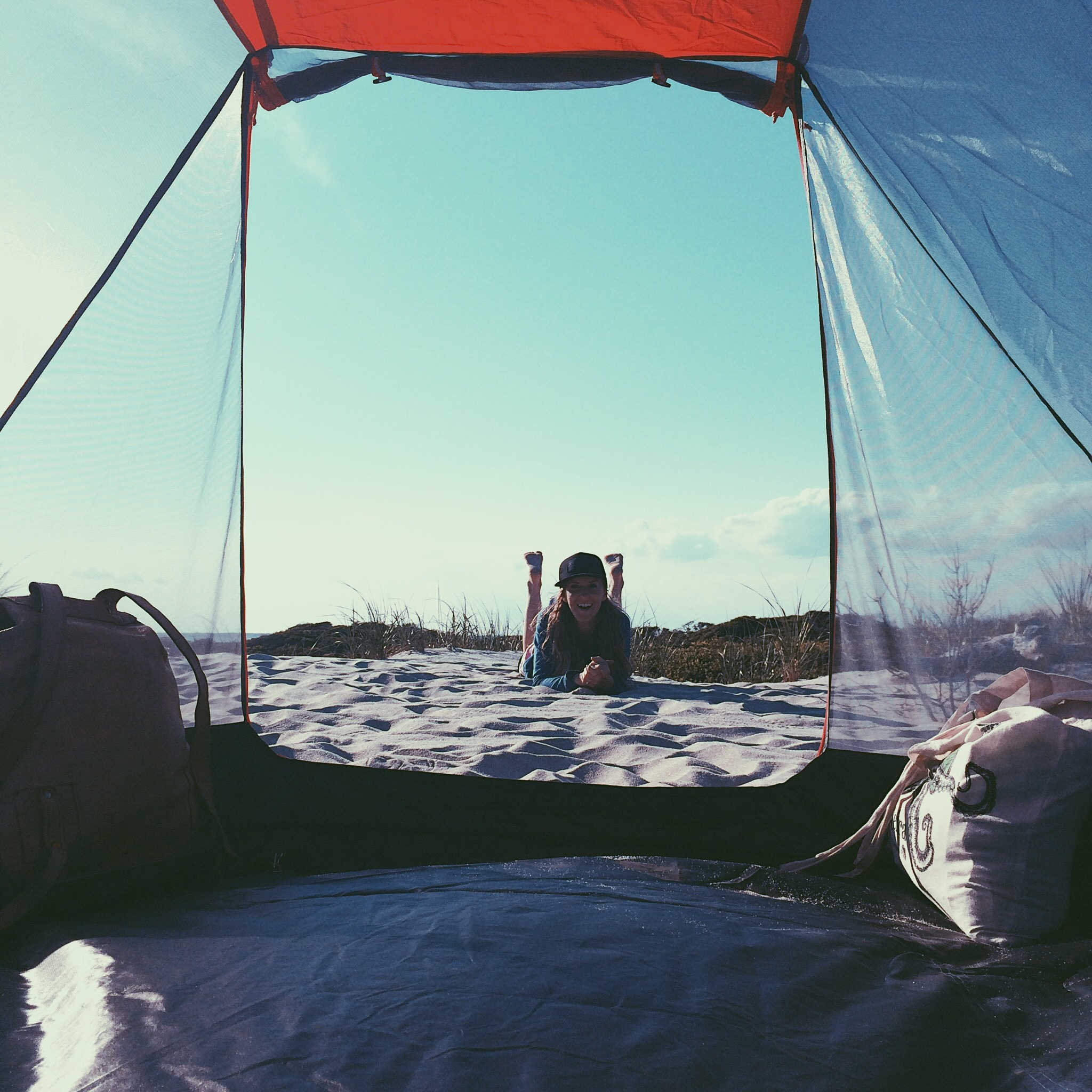 Camping in Fire Island, Summer 2015