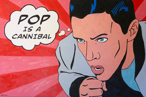 Pop is a Cannibal (72 x 48)