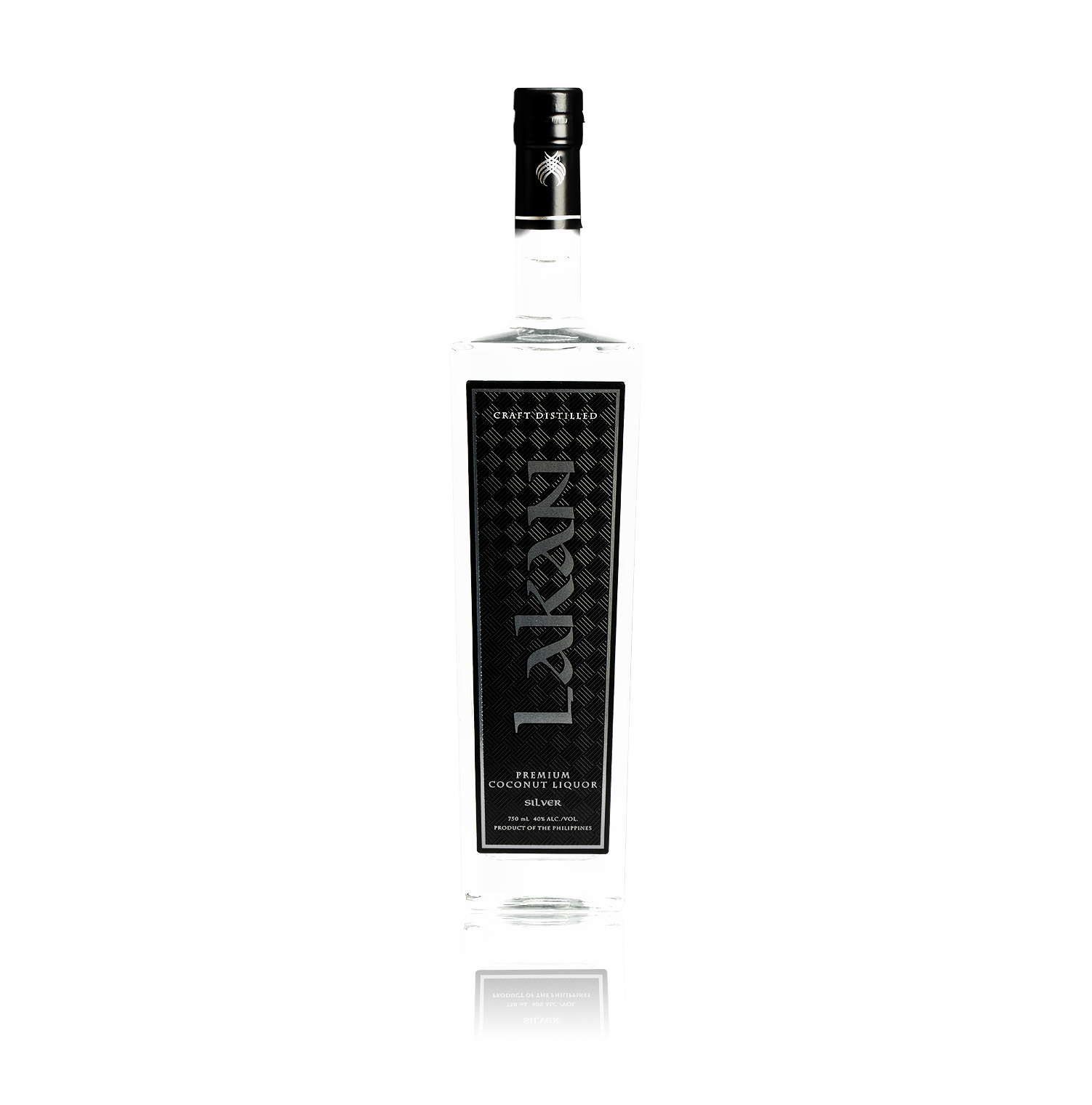 Lakan Silver is an authentic coconut liquor craft distilled in small batches by our Master Artisan. This unique liquor has hints of a jammy fruit and vanilla flavor with a pleasingly smooth finish.  Celebrate and taste the difference with a bottle of Lakan Premium Lambanog.  40 ABV 750ml 4x pot distilled
