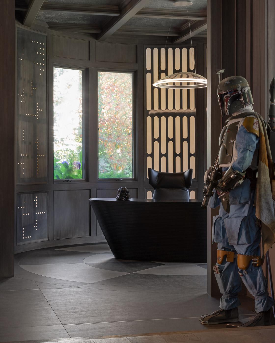 Star Wars Home Office - Boba Fett