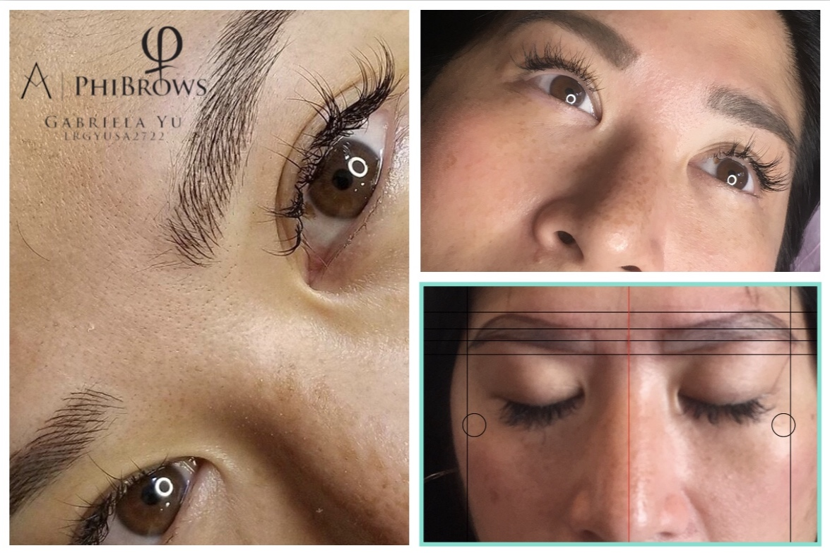 Microblading, also known as eyebrow embroidery or 3D brows, is a relatively new manual method for enhancing eyebrows. It is considered to be permanent makeup, as compared to the traditional hair stroke technique done by machine. It is done using a very fine blade to deposit pigment into the dermis. Because the color is closer to the surface, the strokes appear crisp and very fine. There is no spilling under the skin.  The difference with this and ordinary permanent makeup is that microblading is not done by a machine. The pigment is manually placed into the skin. The microblading manual pen is equipped with sterile packaged blades. The blade glides with gentle pressure over the skin and causes fine cuts, as fine as a paper cut, leaving a trace that can hardly be distinguished from real hair. Depending on the drawing technique – of which we are experts – it creates an individual look perfect for your face and the style you are trying to achieve. Above all 3D, or HD, eyebrows absolutely do not appear as a tattoo.  Microblading is ideal for anyone wanting to enhance the look of their eyebrows. The results are natural looking hair-like strokes, regardless of the amount of the hair you currently have.  People suffering from alopecia, trichotillomania or any other condition that causes hair loss benefit greatly from microblading, as well as people who simply aren't happy with their eyebrows.