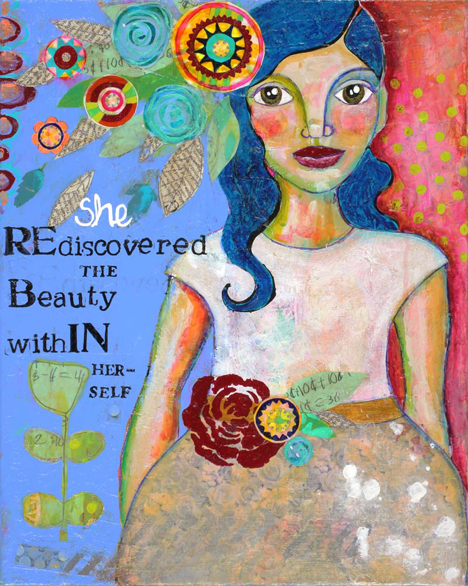 She Rediscovered The Beauty Within Herself