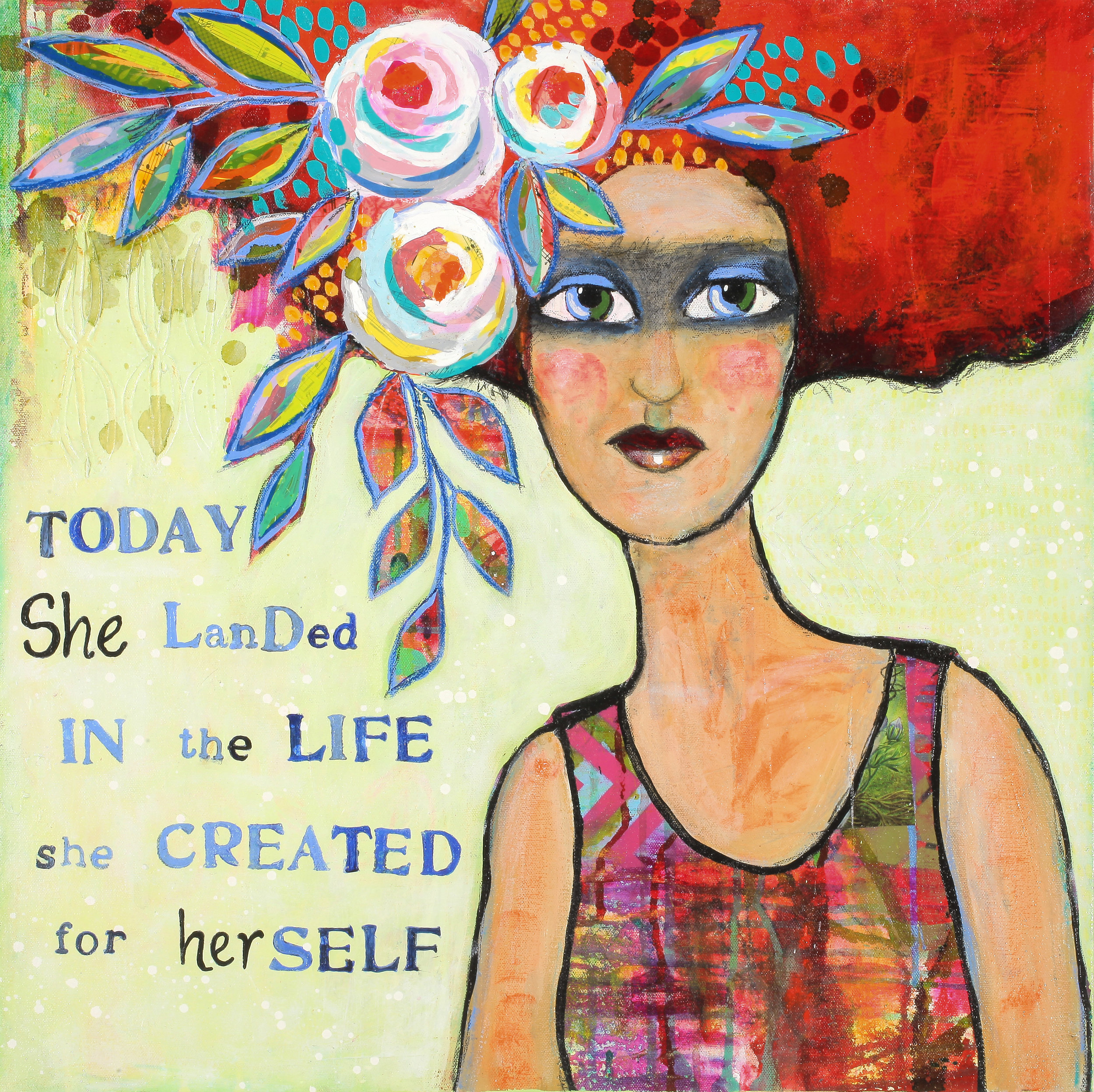 Today She Landed In The Life She Created For Herself
