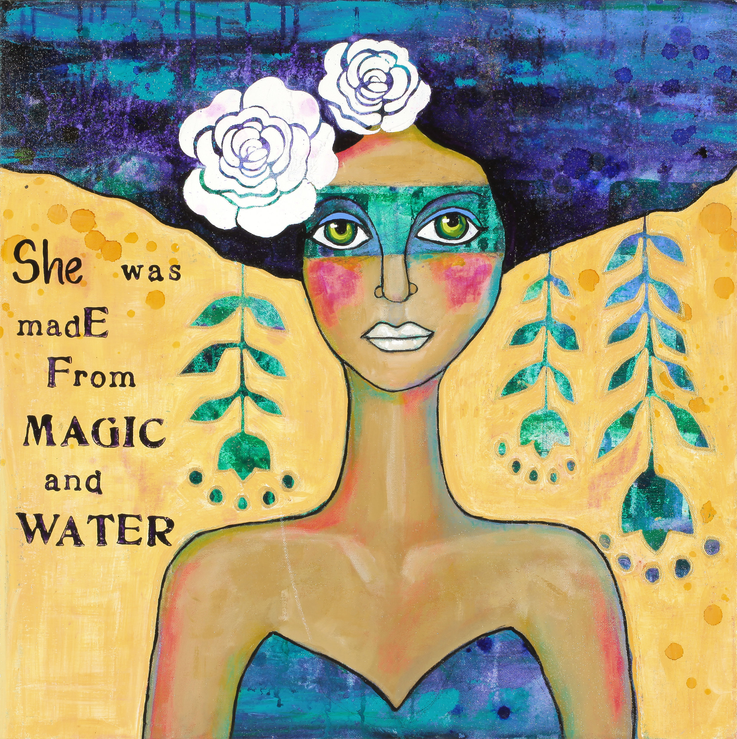 She Was Made Of Magic And Water
