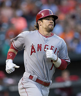 Collin Cowgill  A's - Mets - Angels -Indians - Padres