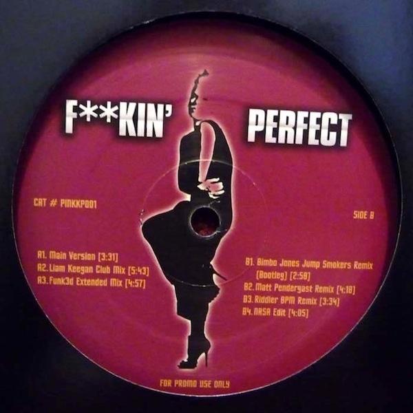 "P!nk   ""F**kin' Perfect (Matt Pendergast Remix)"" (2011)  • Remix Production, Mixing"