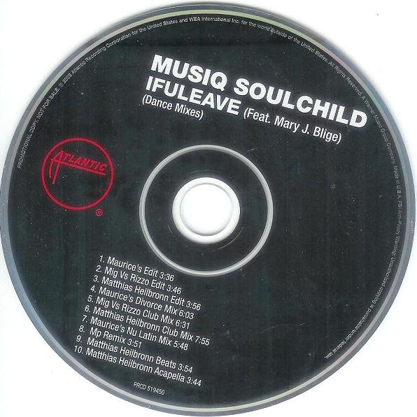 "Musiq Soulchild ft. Mary J. Blige   ""If U Leave (MP Remix)"" (2009)  • Remix Production, Mixing"