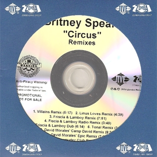 "Britney Spears   ""Circus (TONAL Remix)"" (2008)  • Remix Production, Mixing"