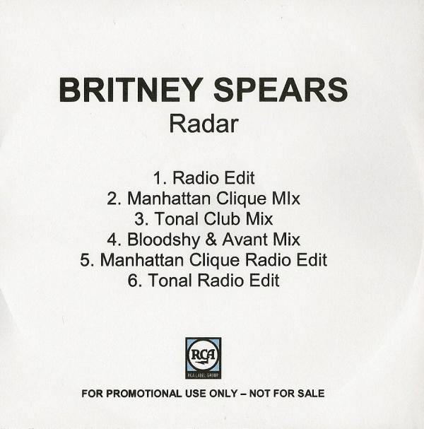 "Britney Spears   ""Radar (TONAL Remix)"" (2007)  • Remix Production, Mixing"