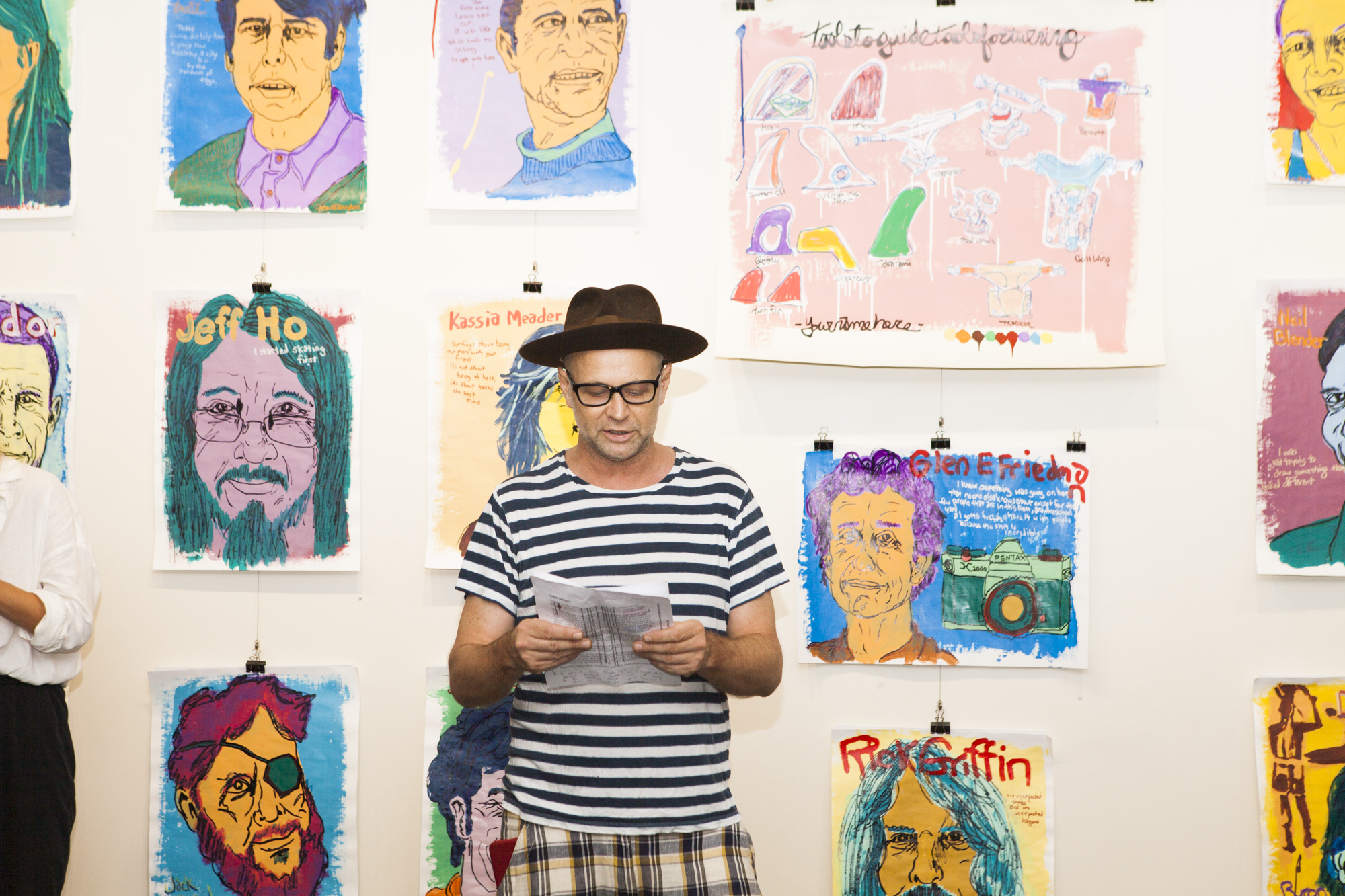 Andy McDonald The Lone Goat Gallery BBSF Art Show Photo by @raffaellaphotography