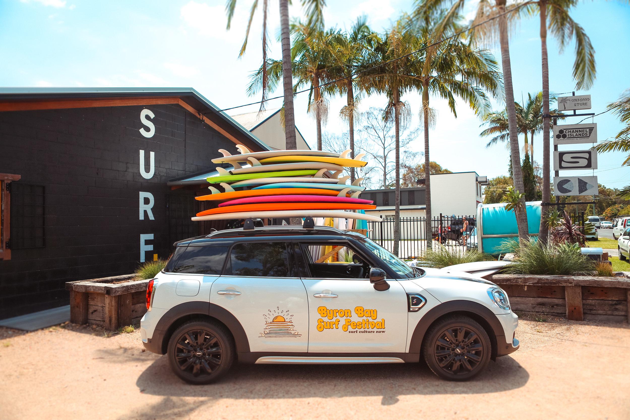 MINI, Catch Surf, Onboard Store. Big ups!! 🙌🏽