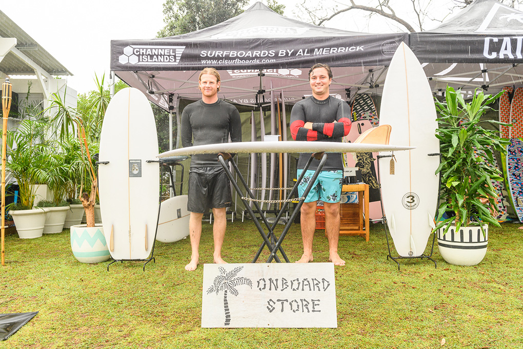 Saturday Surf Art Markets - Onboard store X Al Merrick Nice boards & Happy faces