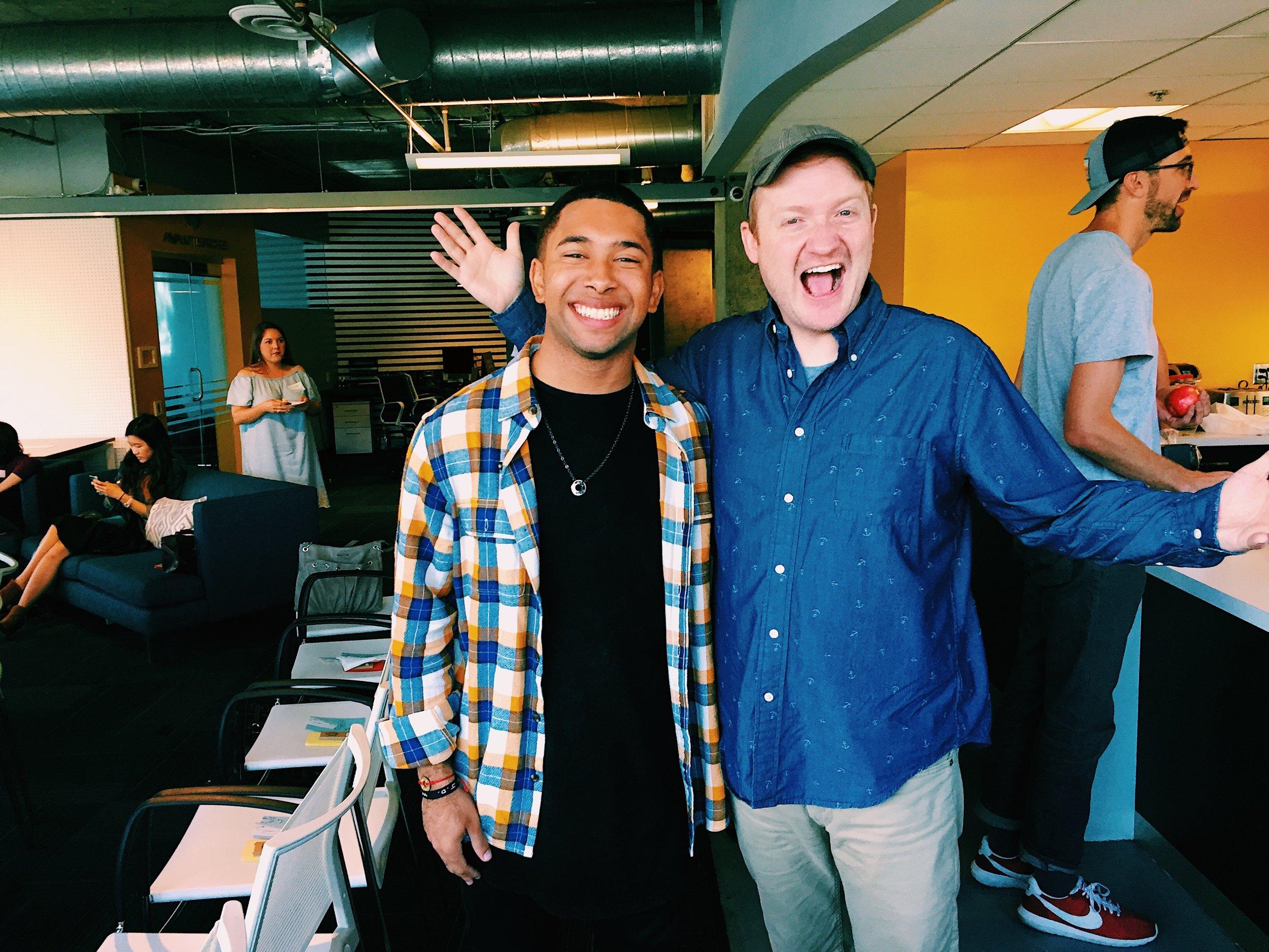 Me &Kid President creator  Brad Montague