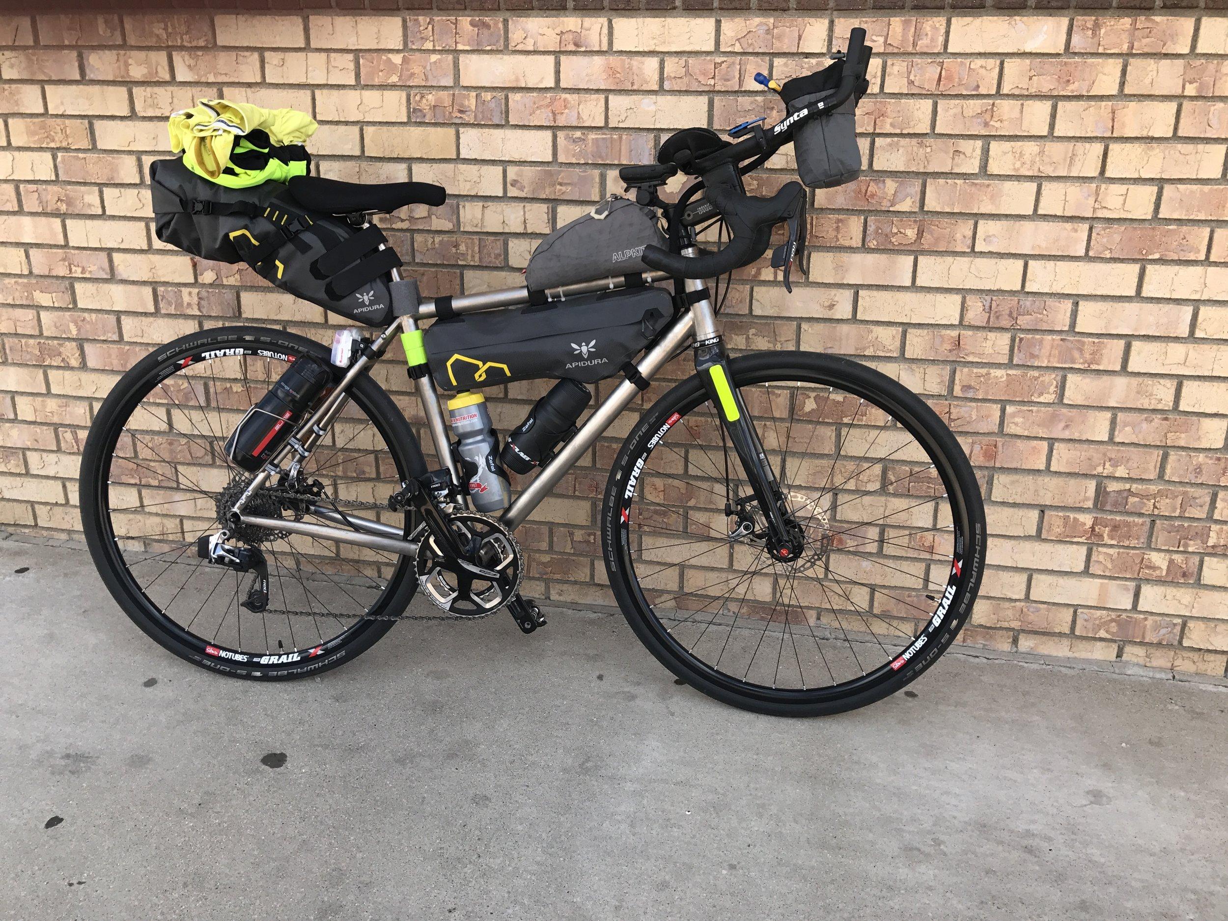 Testing a new bike kit