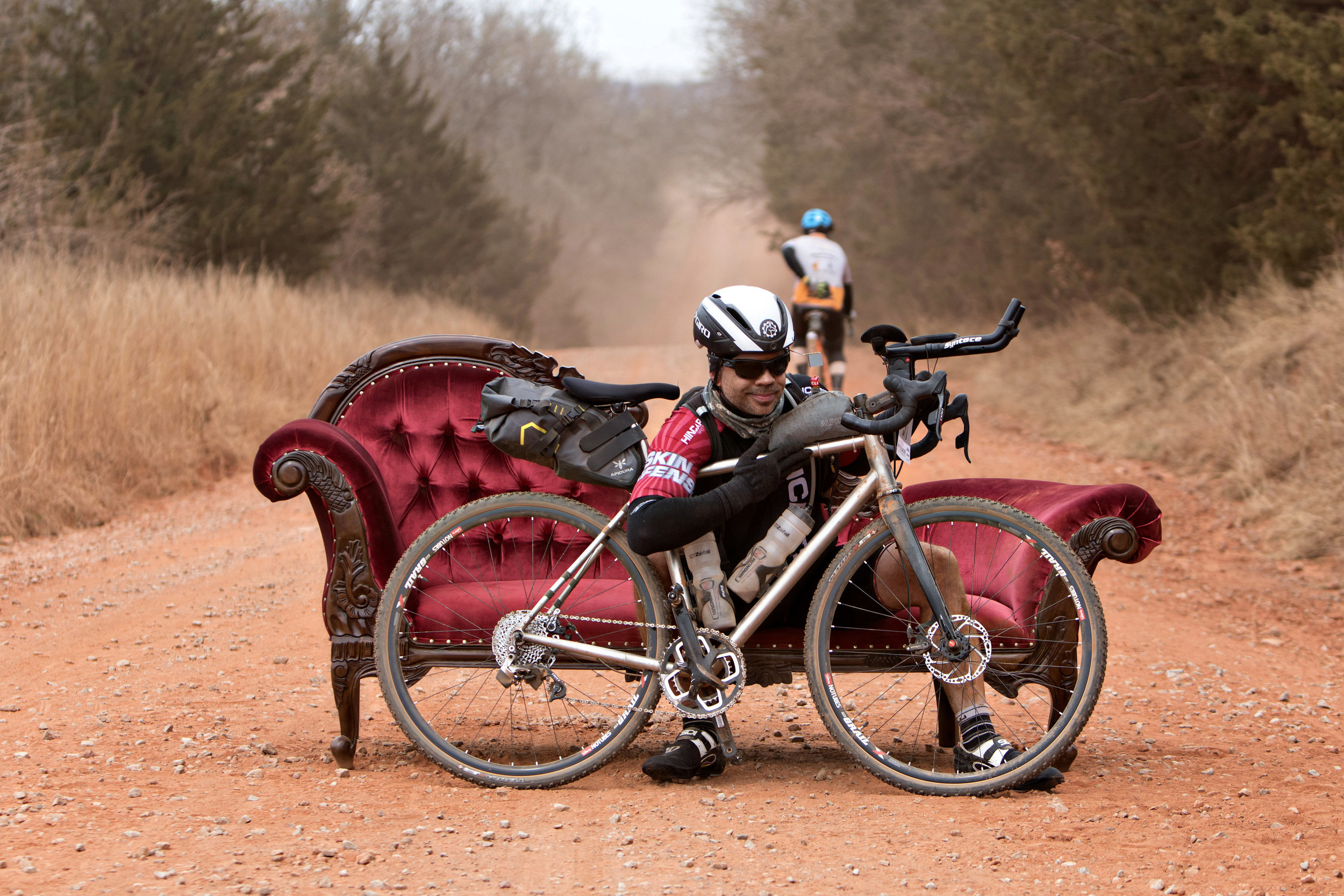 - He has also ridden several single & double (gravel) centuries over the years.