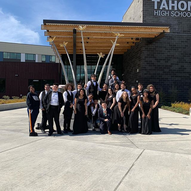 Super proud of Concert Choir rocking their performance and making gorgeous music today at their choir festival! I had high expectations for them and they came through with singing that showed a mature sense of musicianship. #sing #singing #choir #music #highschool #voice  #sopranos #alto #sing #singing #choir #music #highschool #voice #music #concert #royal #student #mlk #drking #strongvoices #youth