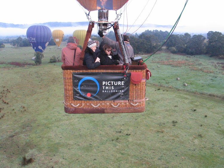- 2 for 1 Flight voucher for Balloon ride over Daylsford
