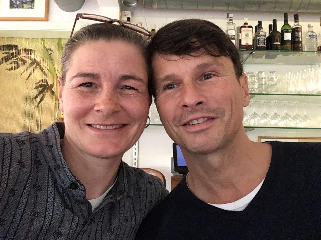 Staschia Houda and Marcel Winkelmann