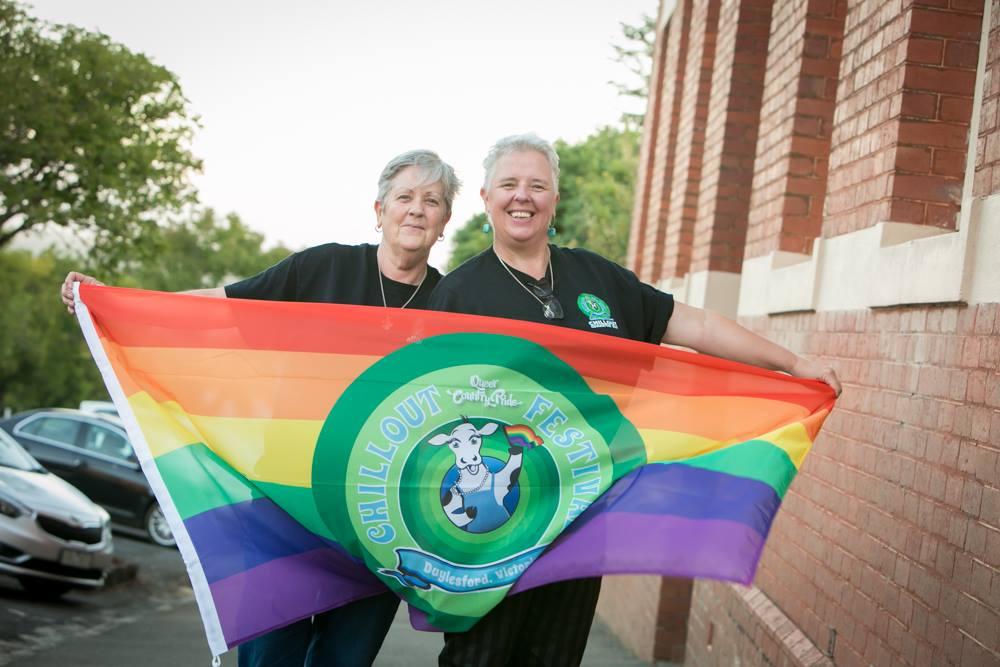 Merryn Tinkler (right) and her partner Jen Grinter