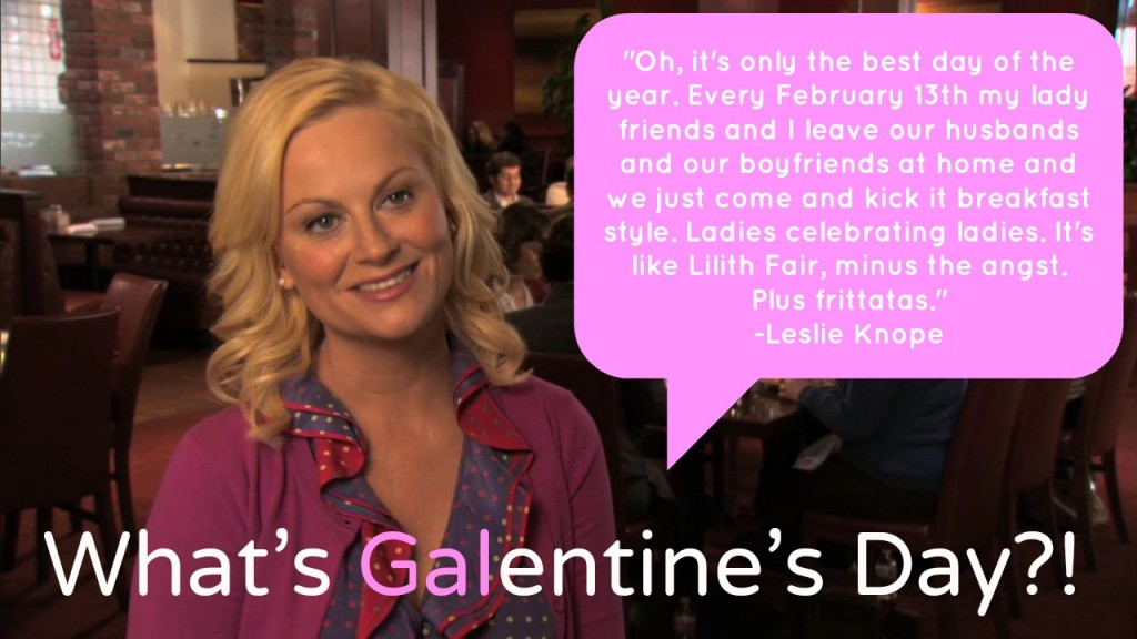Character Leslie Knope (Played by Amy Poehler) from Parks and Recreation was the creator of this concept!