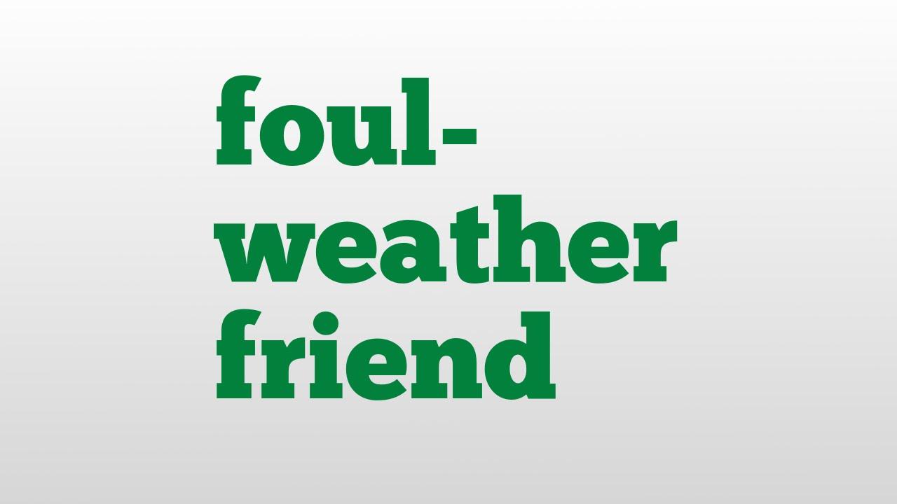 foul weather friend.jpg