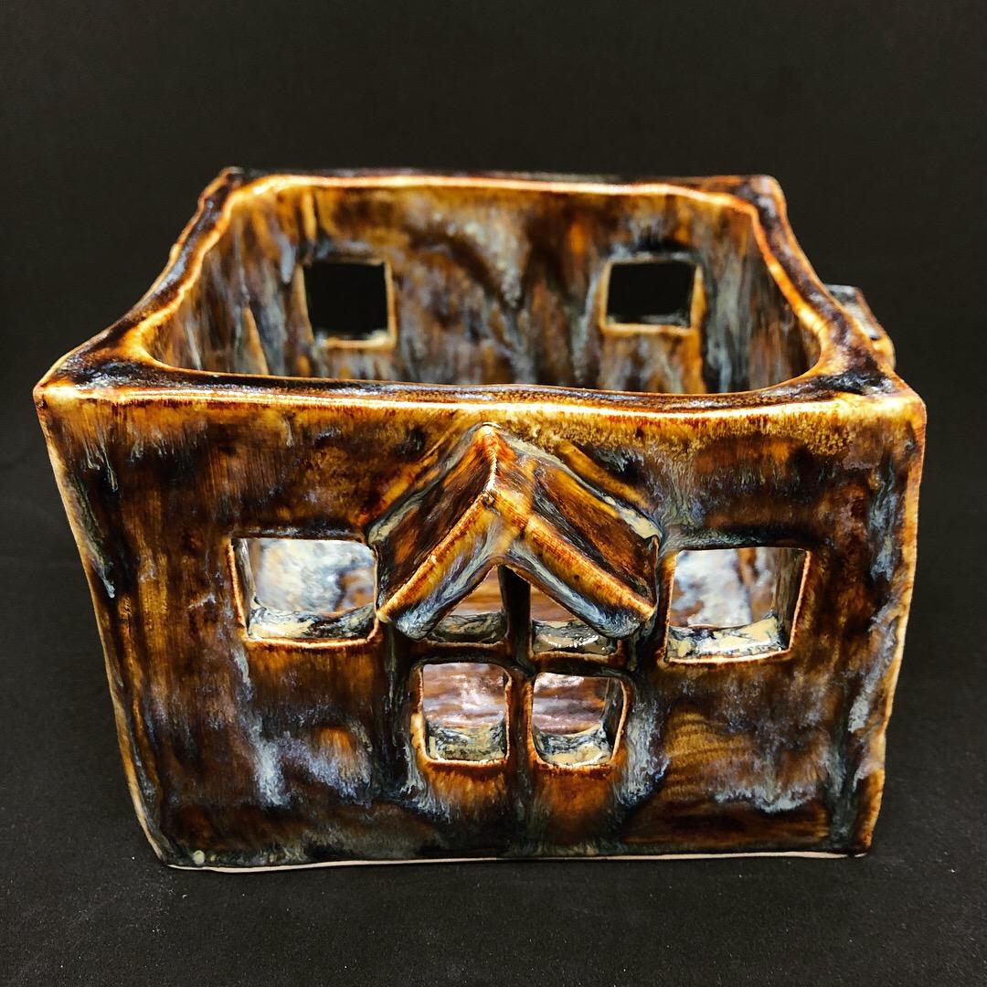 Ceramic miniature house
