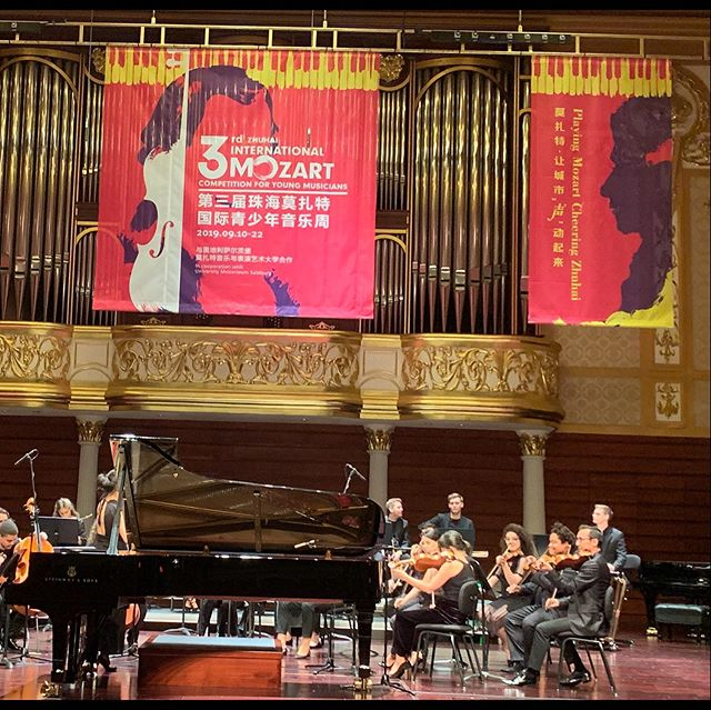 Great pleasure to hear highly talented young pianists and work with wonderful colleagues in Zhuhai,China.