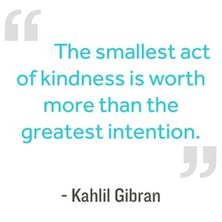 Keep the kindness going 😊