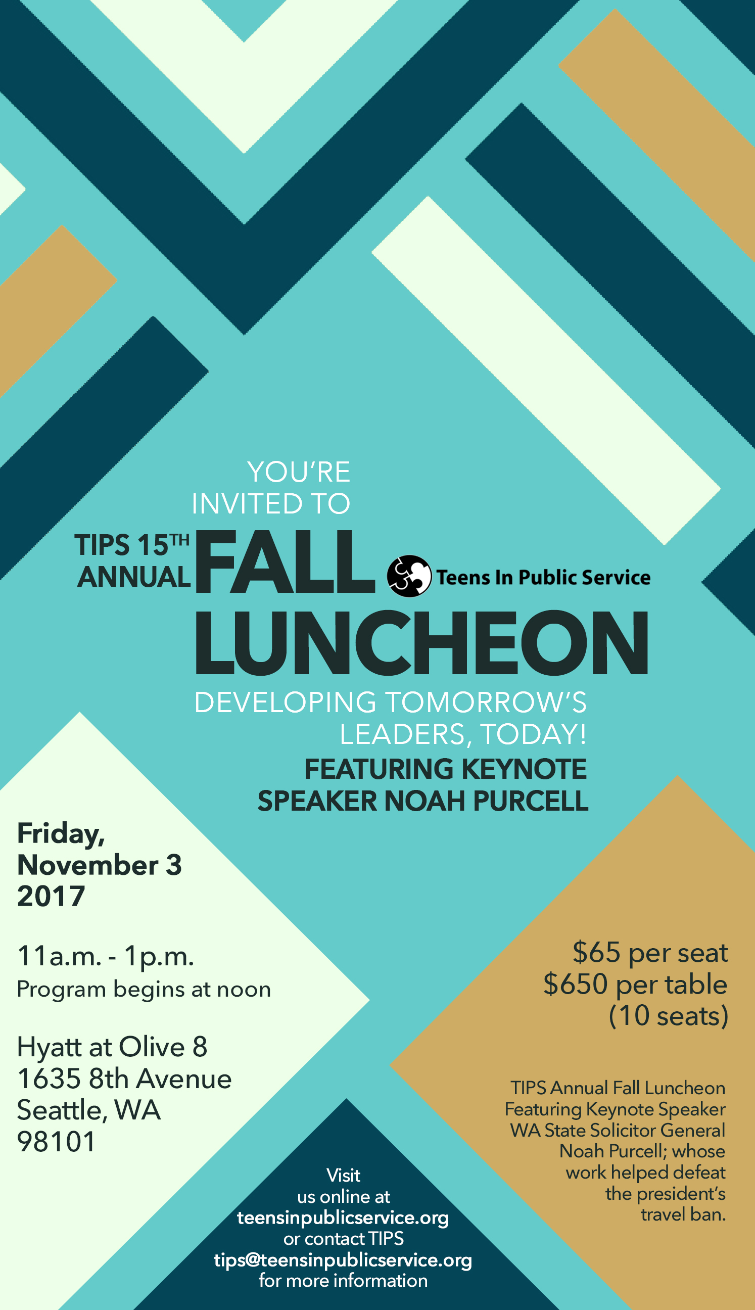 Register for the luncheon