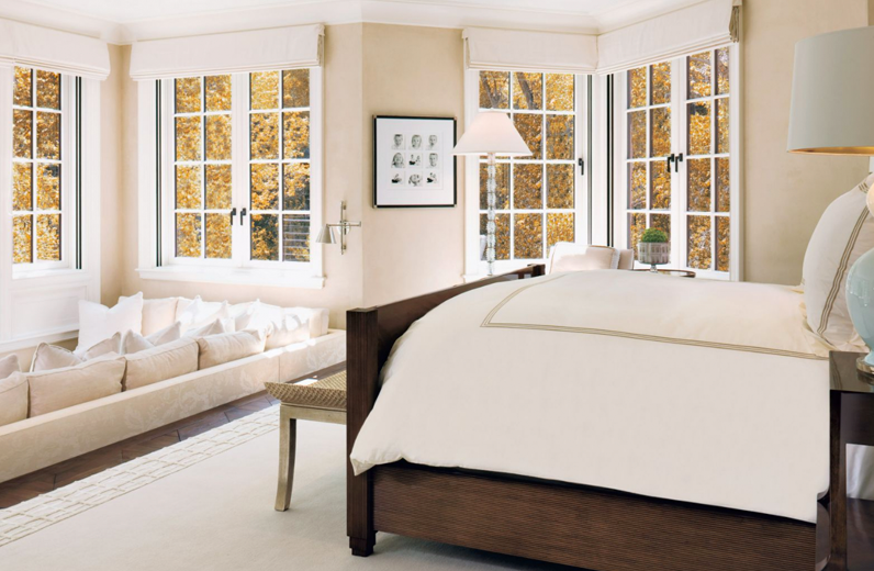 Roman shades featured in  Luxe Interiors + Design Magazine, Fall 2010