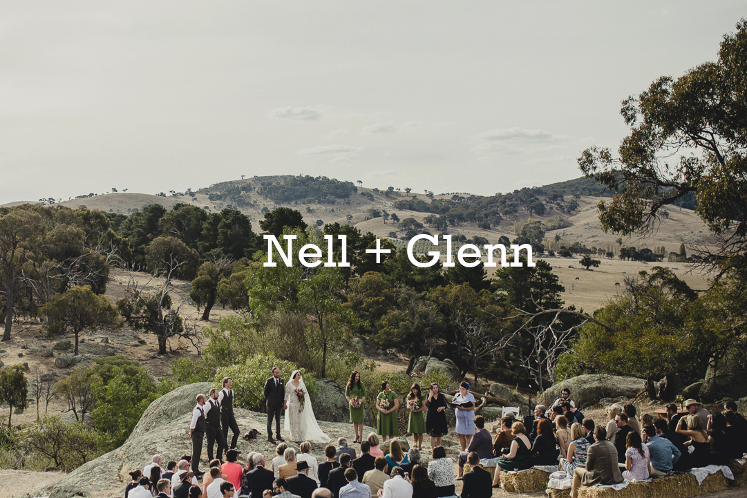 Nell + Glenn Wedding Photography