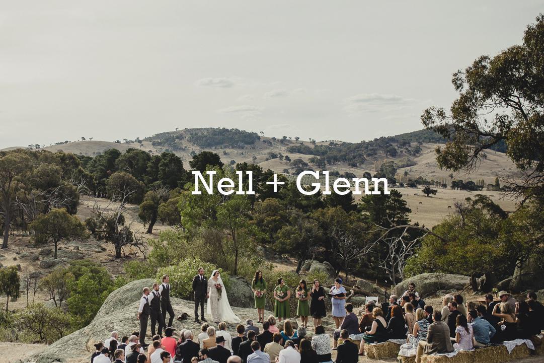 Nell + Glenn Wedding Photography