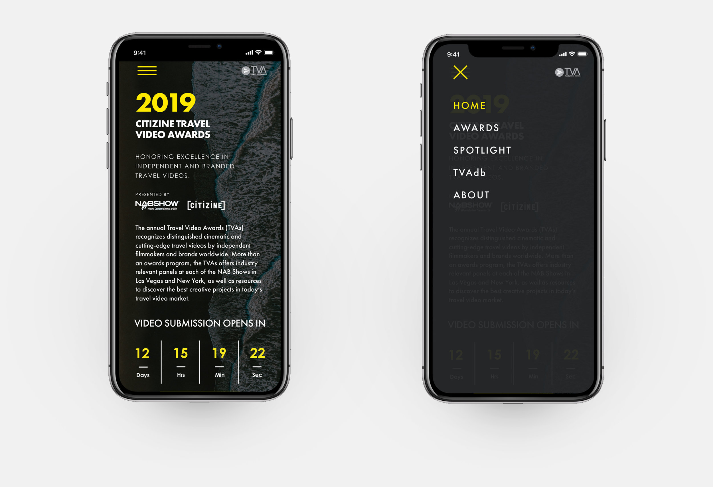 Responsive mobile view