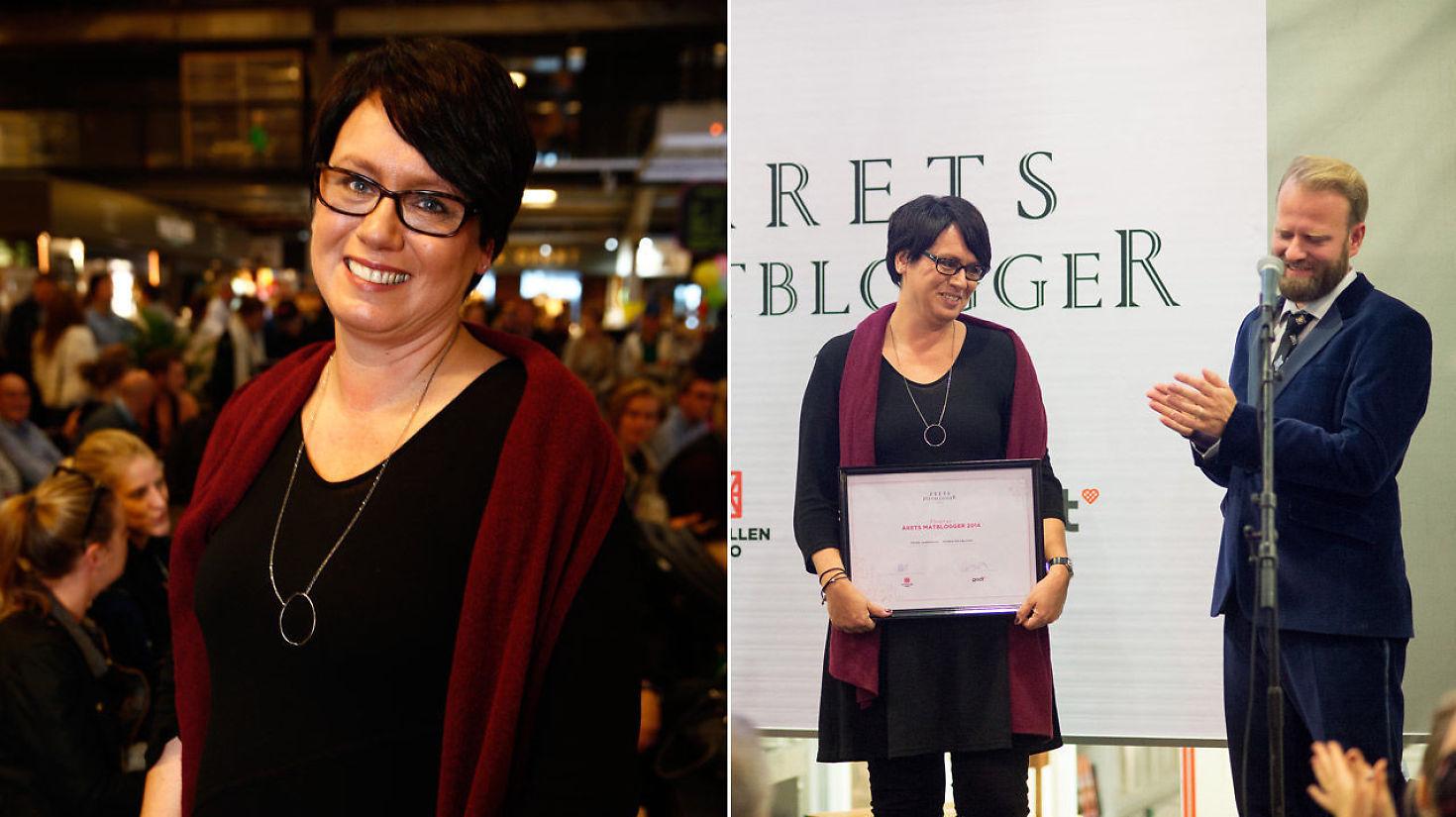 Trines matblogg ble Årets Matblogg 2014
