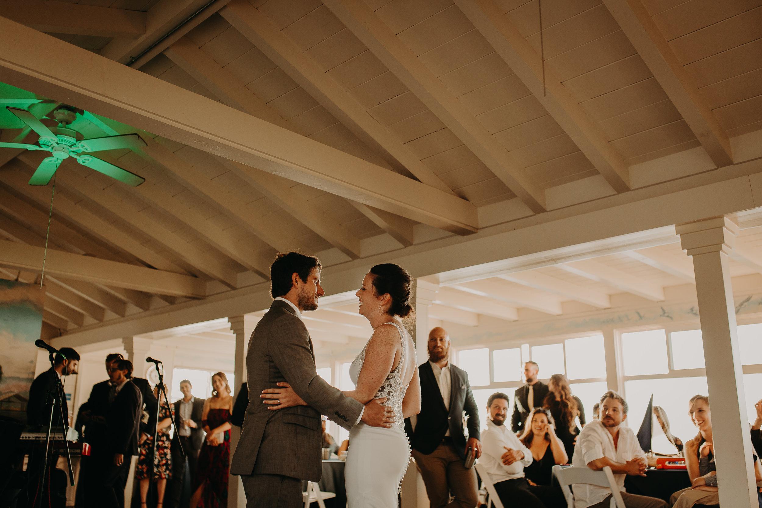 A+E La Jolla intimate Wedding -