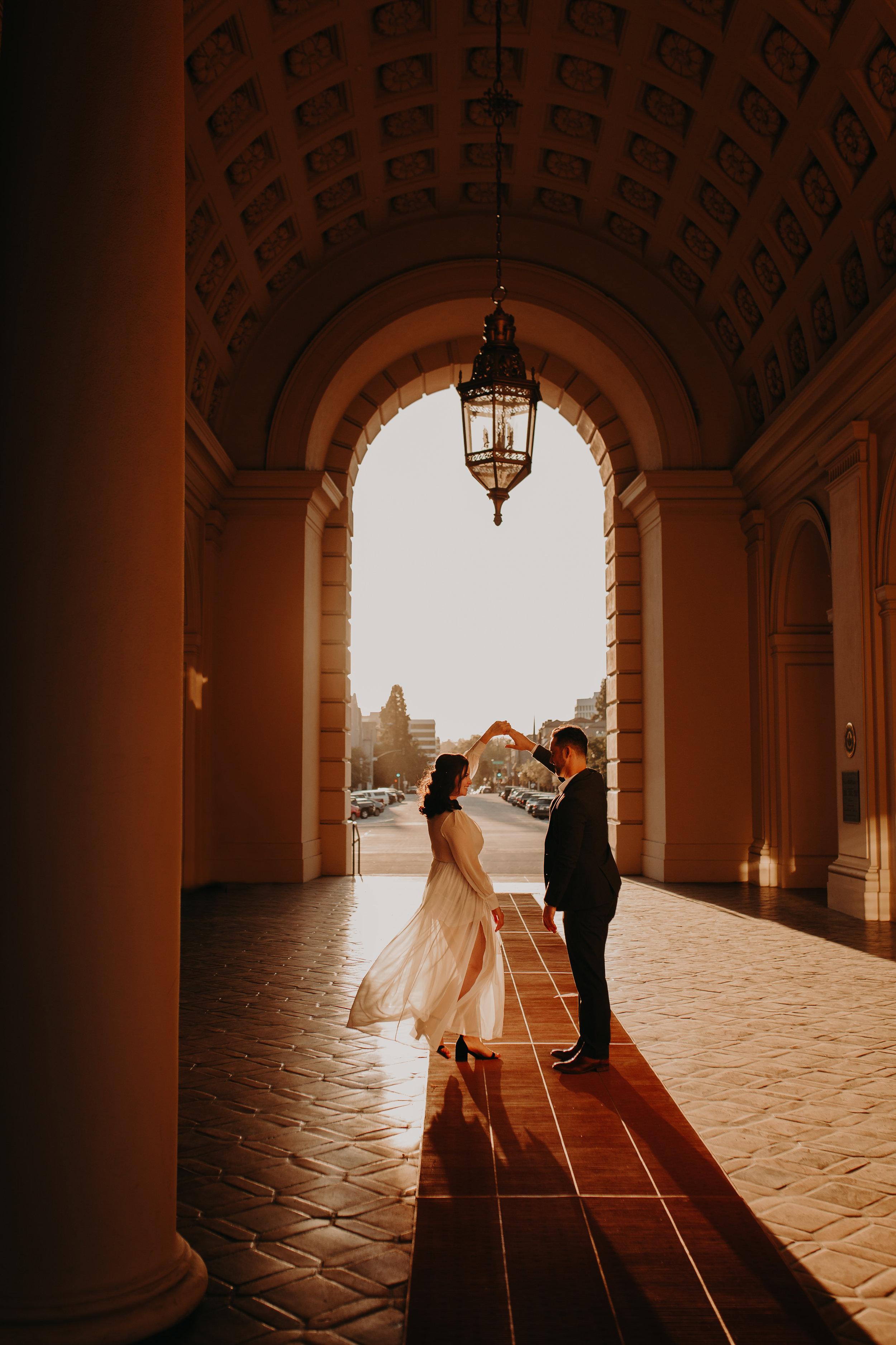 V+J Pasadena Engagements -