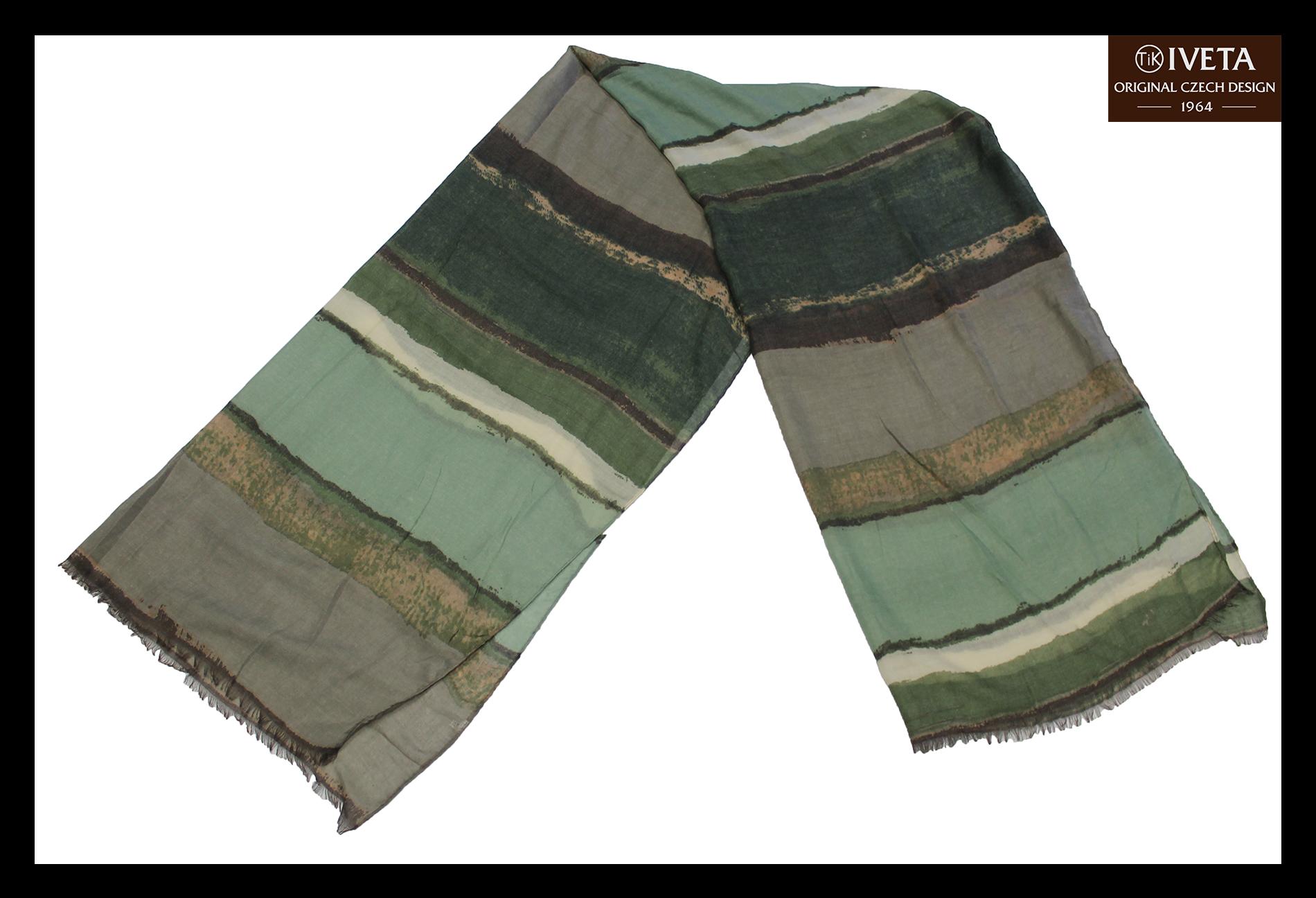 Grey-lightgreen-brown-scarf-fold.jpg