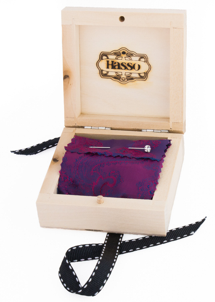 Our cufflinks are supplied in a wooden gift box