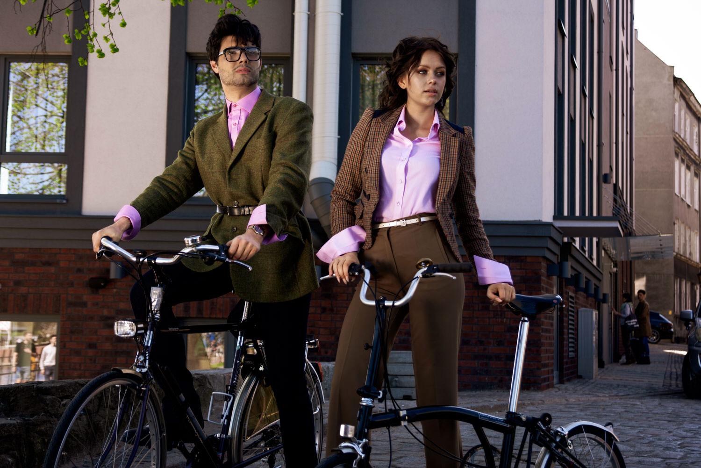 Bike Chain Cufflinks, CYCLING JEWELLERY&Double Cuff Shirts - Luxury Cycling Style