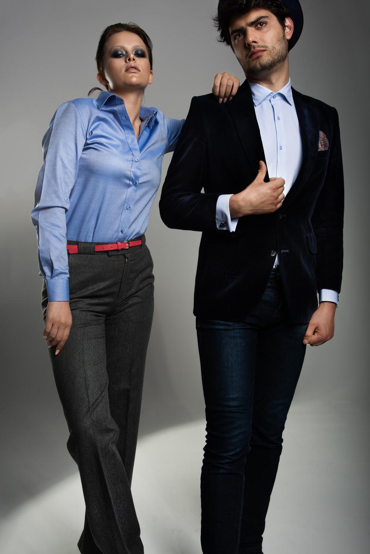 Men's and women's stylish shirts