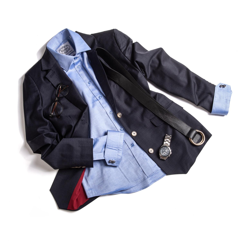 Shirt and cufflinks