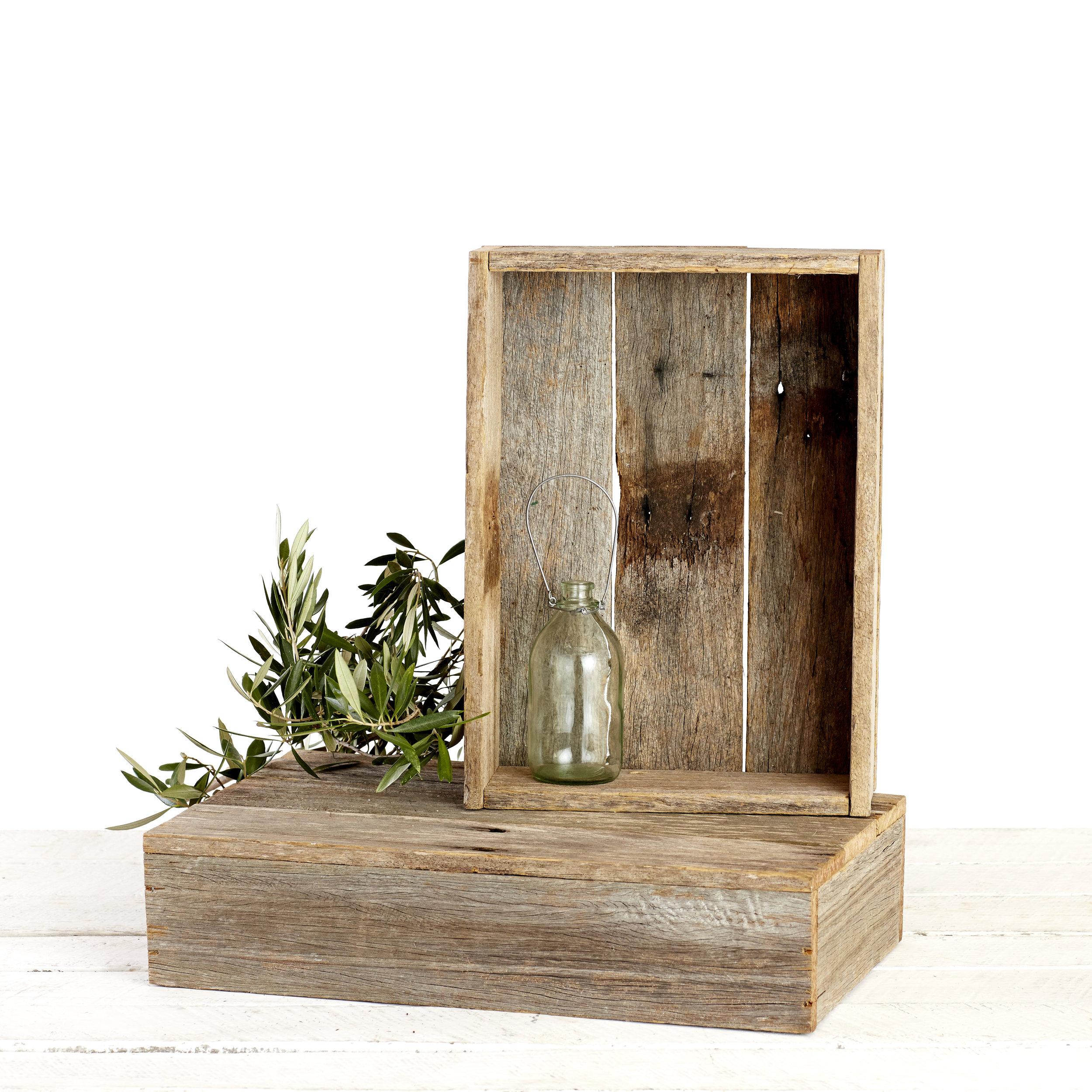 RUSTIC BOXES - BROWN
