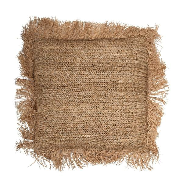 RAFFIA FLOOR CUSHION - SQUARE