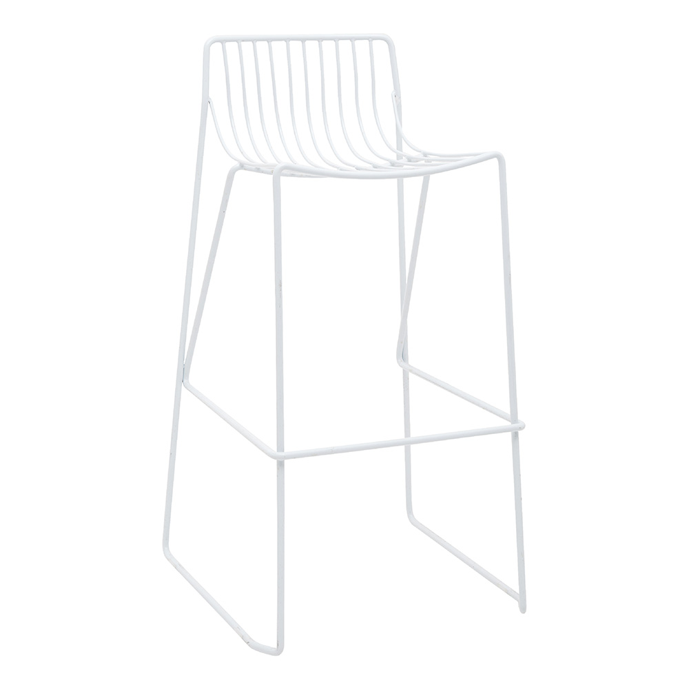 9 x WIRE STOOLS
