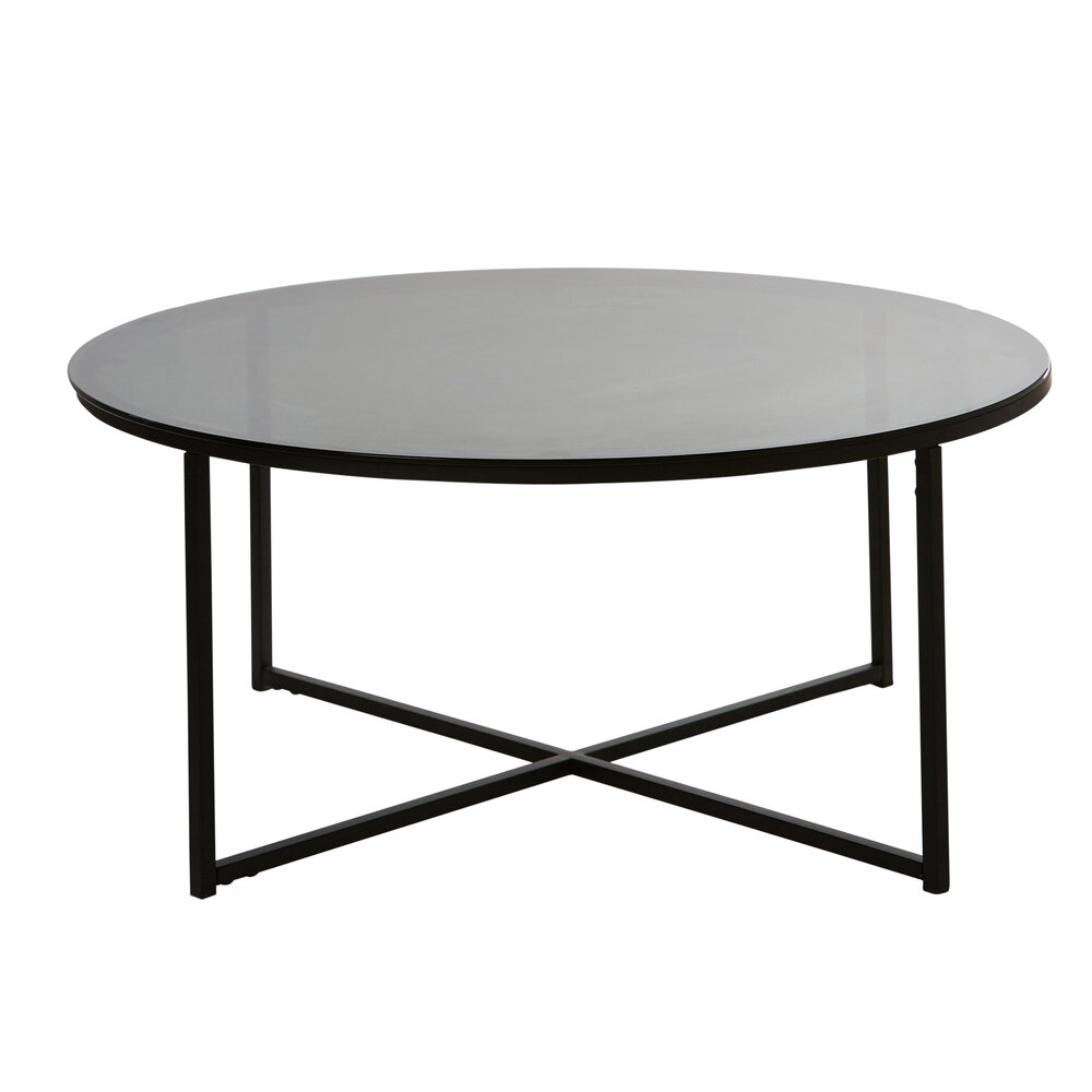 Black Glass Coffee Table Hire Simply Seated Sydney Event Hire