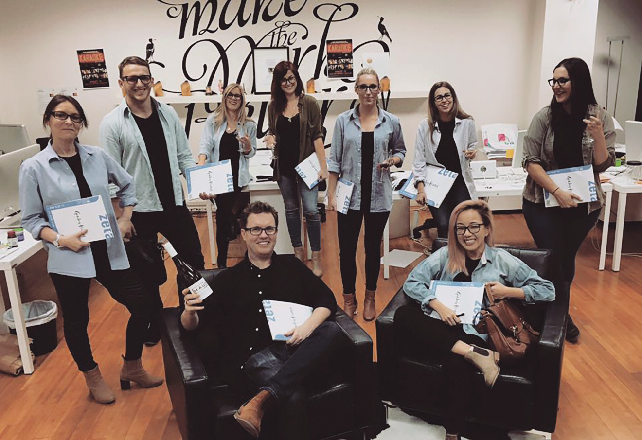 The day when we all dressed up as our Creative Director 😂😂😂