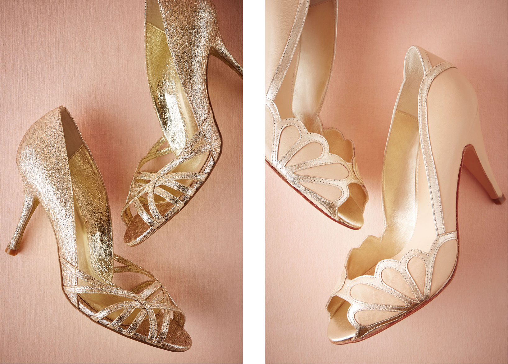 Chaussures  Starcrossed Peep toes 110.51€ et  Isabella scalloped heel 257,85€