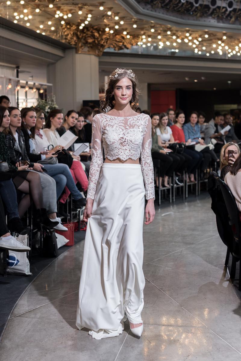 Look 25 - Mademoiselle De Guise-Top Gaïa 1260€ Jupe Joséphine 1860€ au PRINTEMPS MARIAGE.jpg