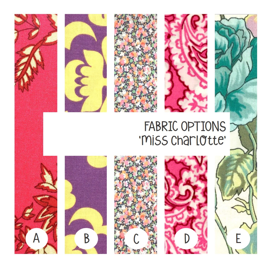 Fabric options available now!