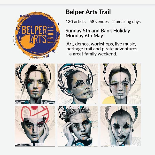 "This year I am participating in The Belper Arts Trail 2019….. I'm at ""The House, 55 Chapel St"" .....come along and pay me a visit...... 130 artists will take up residence in 58 venues around the centre of town displaying and selling an enormous variety of art and crafts between 10.30am and 4.30pm on Sunday and Bank Holiday Monday – 5th and 6th May. The venues are many and varied including many of Belper's shops, cafes, churches, pubs and halls.  Entry to the Trail this year is slightly different as we introduce a wristband for access to all venues, sponsored by Nourish at No 44, and a brochure to accompany it with all the details of the Trail, where artists are and the all important map.  #artstrail #exhibition #artist #belper #derbyshire #collage #animaltesting #mentalhealthawareness #arts #dayout #bankholidayweekend"